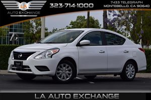 2015 Nissan Versa SV Carfax 1-Owner  White  We are not responsible for typographical errors A