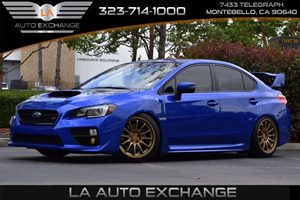 2016 Subaru WRX STI  Carfax 1-Owner - No AccidentsDamage Reported  Lapis Blue Pearl  We are n