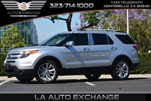 2014 Ford Explorer XLT Carfax 1-Owner - No AccidentsDamage Reported  Ingot Silver Metallic  W