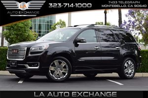 2014 GMC Acadia Denali Carfax 1-Owner Audio  Premium Sound System Axle 316 Ratio Convenience