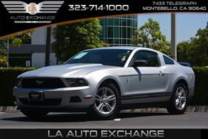 2012 Ford Mustang V6 Carfax Report - No AccidentsDamage Reported  Ingot Silver Metallic ---
