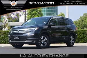 2016 Honda Pilot EX-L Carfax 1-Owner  Black Forest Pearl   40812 Per Month -ON APPROVED CRED