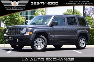 2015 Jeep Patriot Sport Carfax 1-Owner - No AccidentsDamage Reported 120 Amp Alternator 412 Ax