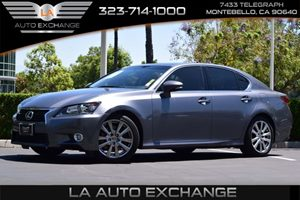 2013 Lexus GS 350  Carfax Report 3-Point Belts For All Seating Positions WHeight-Adjustable Fron