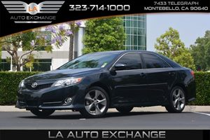 2014 Toyota Camry SE Sport Carfax 1-Owner  Cosmic Gray Mica ---  18996 Per Month -ON APPR