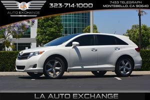 2014 Toyota Venza XLE Carfax 1-Owner  White 26791 Per Month -ON APPROVED CREDIT---  --