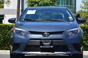 2015 Toyota Corolla L Carfax 1-Owner - No AccidentsDamage Reported  Gray 15748 Per Month -O