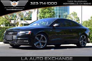 2016 Audi A5 Premium Plus Carfax 1-Owner - No AccidentsDamage Reported  Brilliant Black  We a