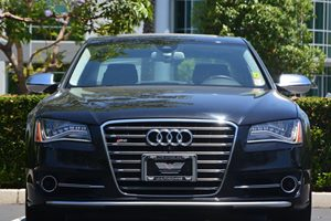 2014 Audi S8  Carfax 1-Owner  Brilliant Black  We are not responsible for typographical errors