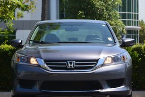 2014 Honda Accord Sedan LX Carfax 1-Owner  Gray  We are not responsible for typographical erro