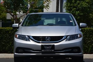 2015 Honda Civic Sedan EX-L Carfax 1-Owner - No AccidentsDamage Reported  Alabaster Silver Met