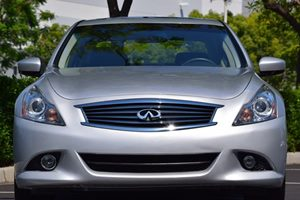 2013 INFINITI G37 Sedan Journey Carfax 1-Owner - No AccidentsDamage Reported Convenience  Back-