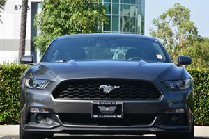 2017 Ford Mustang EcoBoost Carfax 1-Owner  Gray  We are not responsible for typographical erro