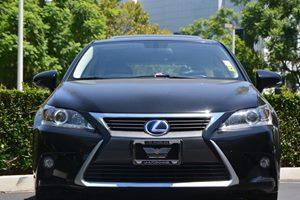 2015 Lexus CT 200h Hybrid Carfax 1-Owner  Nebula Gray Pearl wBlack Roof  We are not responsib
