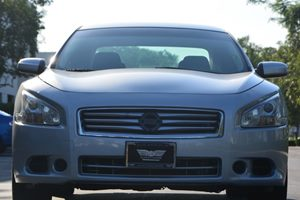 2012 Nissan Maxima 35 S Carfax Report - No AccidentsDamage Reported  Brilliant Silver Metalli