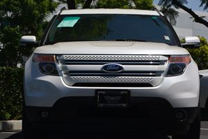 2014 Ford Explorer Limited Carfax 1-Owner - No AccidentsDamage Reported  White Platinum Metall