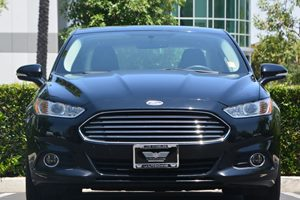 2016 Ford Fusion SE Carfax 1-Owner - No AccidentsDamage Reported  Shadow Black 20945 Per Mo
