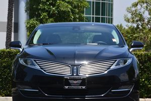 2014 Lincoln MKZ  Carfax 1-Owner - No AccidentsDamage Reported  Ruby Red Metallic Tinted Clear