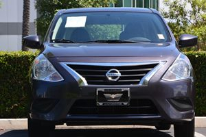 2015 Nissan Versa SV Carfax 1-Owner - No AccidentsDamage Reported  Amethyst Gray 15612 Per