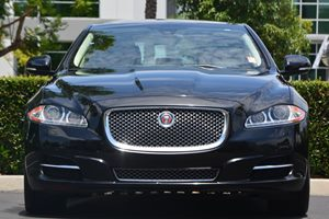 2014 Jaguar XJ XJL Portfolio Carfax 1-Owner - No AccidentsDamage Reported  Ultimate Black Meta