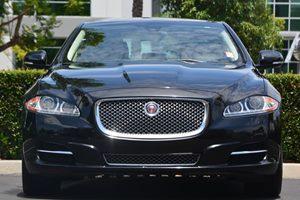 2014 Jaguar XJ XJL Portfolio Carfax 1-Owner - No AccidentsDamage Reported  Ultimate Black Meta