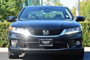 2015 Honda Accord Coupe EX-L V6 Carfax 1-Owner  Crystal Black Pearl  We are not responsible fo