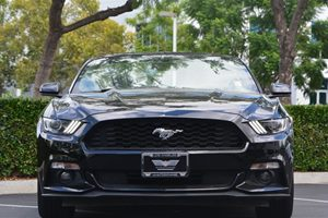 2015 Ford Mustang V6 Carfax 1-Owner - No AccidentsDamage Reported  Black 22894 Per Month -O