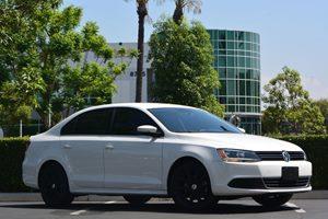 2014 Volkswagen Jetta Sedan SE PZEV Carfax 1-Owner  White 15612 Per Month -ON APPROVED CREDI