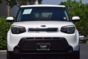 2014 Kia Soul Base Carfax 1-Owner - No AccidentsDamage Reported  Clear White 17047 Per Mont