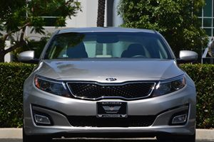 2014 Kia Optima LX Carfax 1-Owner - No AccidentsDamage Reported  Silver  17697 Per Month -O