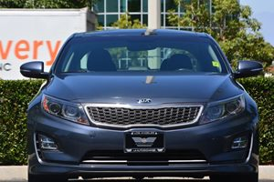 2014 Kia Optima Hybrid EX Carfax 1-Owner - No AccidentsDamage Reported  Smokey Blue Metallic