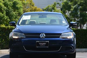 2014 Volkswagen Jetta Sedan SE PZEV Carfax 1-Owner  Tempest Blue Metallic 14911 Per Month -O
