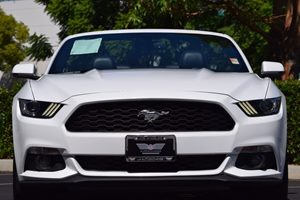2016 Ford Mustang EcoBoost Premium Carfax 1-Owner  Oxford White  We are not responsible for ty