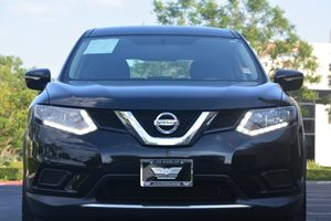 2014 Nissan Rogue S Carfax 1-Owner - No AccidentsDamage Reported  Super Black 19646 Per Mon
