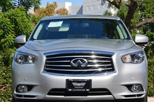 2014 INFINITI QX60  Carfax 1-Owner - No AccidentsDamage Reported  Glacial Silver 3702 Per M