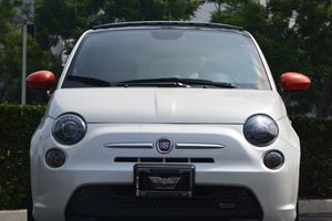 2014 FIAT 500e Base Carfax 1-Owner - No AccidentsDamage Reported  Bianco Perla Pearl White Tr