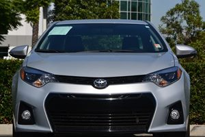 2016 Toyota Corolla S Plus Carfax 1-Owner  Classic Silver Metallic 19646 Per Month -ON APPRO