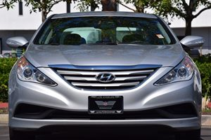 2014 Hyundai Sonata GLS Carfax 1-Owner 150 Amp Alternator 273 Axle Ratio Airbag Occupancy Sens