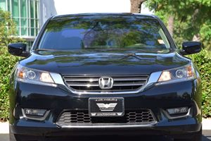 2015 Honda Accord Sedan Sport Carfax 1-Owner - No AccidentsDamage Reported  Crystal Black Pear