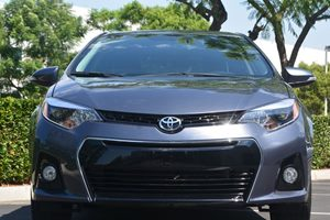 2014 Toyota Corolla S Plus Carfax 1-Owner - No AccidentsDamage Reported  Gray 17697 Per Mon