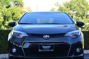 2014 Toyota Corolla S Carfax 1-Owner - No AccidentsDamage Reported  Black Sand Mica 17697 P