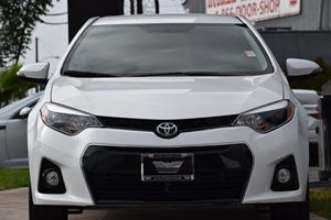 2016 Toyota Corolla S Carfax 1-Owner - No AccidentsDamage Reported  Super White  We are not r