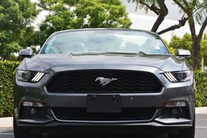2016 Ford Mustang EcoBoost Premium Carfax 1-Owner - No AccidentsDamage Reported  Gray  We are