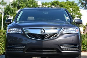 2015 Acura MDX ADVANCE Carfax 1-Owner - No AccidentsDamage Reported Air Conditioning AC Air C