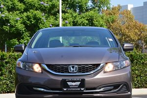 2014 Honda Civic Sedan LX Carfax 1-Owner  Gray 17697 Per Month -ON APPROVED CREDIT---  -