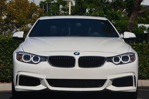 2014 BMW 4 Series 428i Carfax 1-Owner  White 33228 Per Month -ON APPROVED CREDIT---  --