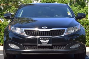 2011 Kia Optima EX Carfax 1-Owner  Ebony Black  We are not responsible for typographical error