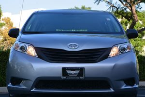 2014 Toyota Sienna L 7-Passenger Carfax 1-Owner - No AccidentsDamage Reported  Silver Sky Meta