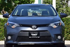 2014 Toyota Corolla LE Plus Carfax 1-Owner - No AccidentsDamage Reported  Gray  We are not re