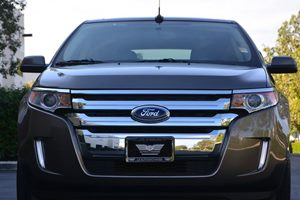 2014 Ford Edge SEL Carfax 1-Owner  Mineral Gray Metallic 24193 Per Month -ON APPROVED CREDIT